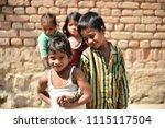 khajuraho  india 23 february... | Shutterstock . vector #1115117504