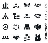 set of simple vector isolated... | Shutterstock .eps vector #1115120471
