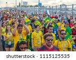 rostov on don  russia   june 17 ...   Shutterstock . vector #1115125535