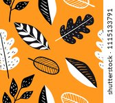 vector seamless pattern with... | Shutterstock .eps vector #1115133791