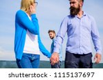 cheating concept. man found or... | Shutterstock . vector #1115137697