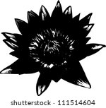 Illustration Flower Silhouette