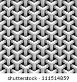 seamless pattern of gray blocks | Shutterstock .eps vector #111514859