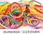 Colorful Rubber Band Texture