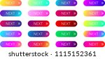 colorful spectrum next web... | Shutterstock .eps vector #1115152361