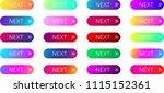 colorful spectrum next web... | Shutterstock .eps vector #1115152361