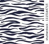 zebra. the seamless animal skin ... | Shutterstock .eps vector #1115164715