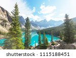beautiful turquoise waters of... | Shutterstock . vector #1115188451