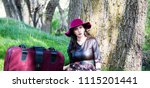 woman photo traveling in the... | Shutterstock . vector #1115201441