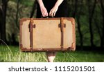 woman photo traveling in the... | Shutterstock . vector #1115201501