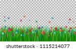 vector illustration of green... | Shutterstock .eps vector #1115214077