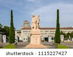 geneva  switzerland   june 10 ... | Shutterstock . vector #1115227427