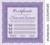 violet awesome violet sample... | Shutterstock .eps vector #1115244185