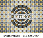 buy it now arabesque style... | Shutterstock .eps vector #1115252954