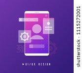 mobile ui ux design  app...
