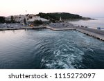 view of city of mytilene in... | Shutterstock . vector #1115272097