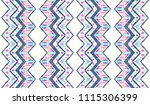 tribal vector ornament.... | Shutterstock .eps vector #1115306399
