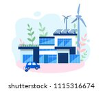 concept smart house  clean... | Shutterstock .eps vector #1115316674