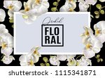 vector horizontal banner with... | Shutterstock .eps vector #1115341871