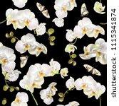 vector vertical seamless... | Shutterstock .eps vector #1115341874