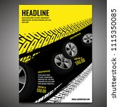 vector automotive banner... | Shutterstock .eps vector #1115350085