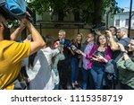 bucharest  romania  may 15 ... | Shutterstock . vector #1115358719