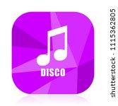 disco music violet square...   Shutterstock .eps vector #1115362805