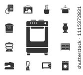 stove icon. simple element... | Shutterstock .eps vector #1115372831