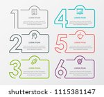 business infographic template.... | Shutterstock .eps vector #1115381147