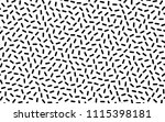 black and white geometric...   Shutterstock .eps vector #1115398181
