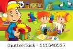 the cartoon kindergarten   fun... | Shutterstock . vector #111540527