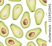 vector seamless pattern of... | Shutterstock .eps vector #1115412041