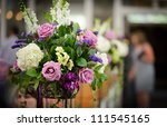 Flower Arrangement At The...