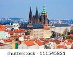 Old Prague Panorama With...