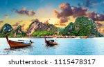 scenic phuket landscape.... | Shutterstock . vector #1115478317