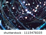 technology and science concept. ... | Shutterstock . vector #1115478335