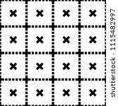 seamless cross geometric and...   Shutterstock .eps vector #1115482997