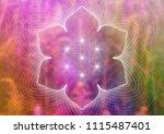 vector template of banner ... | Shutterstock .eps vector #1115487401