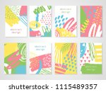 abstract colorful backgrounds... | Shutterstock .eps vector #1115489357