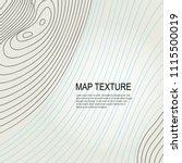 topographical vector background ...   Shutterstock .eps vector #1115500019