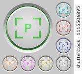camera program mode color icons ... | Shutterstock .eps vector #1115506895