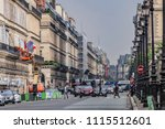 paris  france   june 11  2018 ... | Shutterstock . vector #1115512601