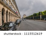 paris  france   june 11  2018 ... | Shutterstock . vector #1115512619