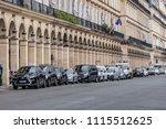 paris  france   june 11  2018 ... | Shutterstock . vector #1115512625