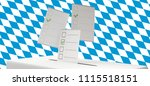 bavaria flag background with... | Shutterstock . vector #1115518151