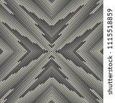 seamless snowflake pattern.... | Shutterstock .eps vector #1115518859