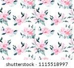 watercolor seamless pattern...   Shutterstock . vector #1115518997