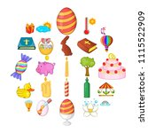 religious holiday icons set....   Shutterstock .eps vector #1115522909