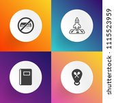 modern  simple vector icon set... | Shutterstock .eps vector #1115523959