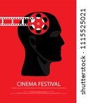 movie and film abstract modern... | Shutterstock .eps vector #1115525021